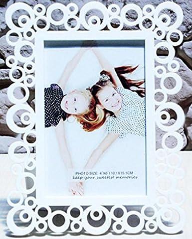 Xiuxiandianju Korean Style creux Photo Frame enfants mariage robes Photo image cr¨¦ative tableau d¨¦coration 6 pouces , B