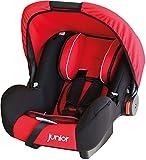 Kinderschalensitz Bambini Schalensitz Babysitz in rot schwarz 904 HDPE nach ECE R44/04