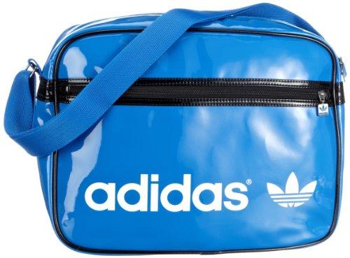 adidas Retro-Umhängetasche Adicolor Airliner, blau-schwarz, 38x28x12 cm, 16 liters, 331300000113