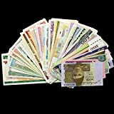 #8: Gold Mint 15 Different Countries Original Foreign Currency Bank Notes Legal Money