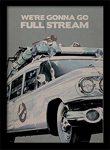 """Affiche encadrée avec la citation """"We're gonna go full stream"""""""