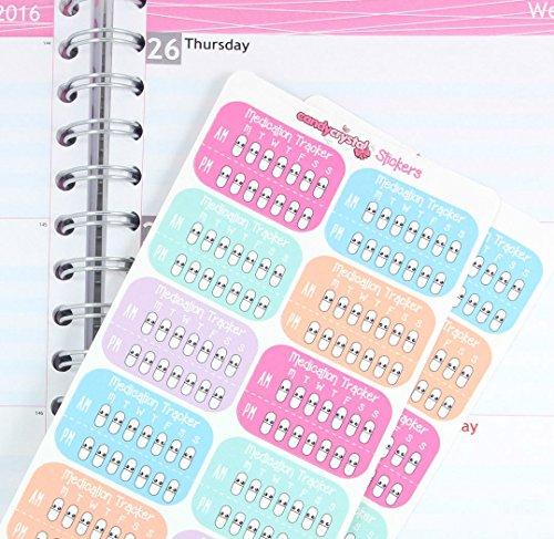 repositionable-1-x-medication-tracker-cute-kawaii-personal-planner-stickers-erin-condren-organiser-s