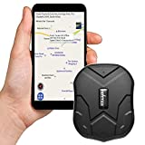 TKSTAR GPS Suivi en temps, long GPS veille Tracker Locator avec puissant aimant pour voiture/véhicules via APP gratuite tk905imperméable Localisateur