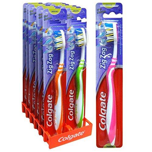 Cépillo de dientes Colgate Zig-Zag Medio -
