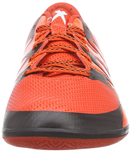 adidas X15.3 In, Chaussures de football homme Rouge - Rot (Bold Orange/Ftwr White/Solar Orange)