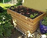 Gartenfrosch Hochbeet aus Lärchenholz 140×80x880