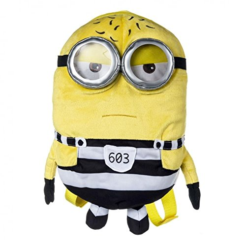 Minions Despicable Me 3 Tom Plush Backpack