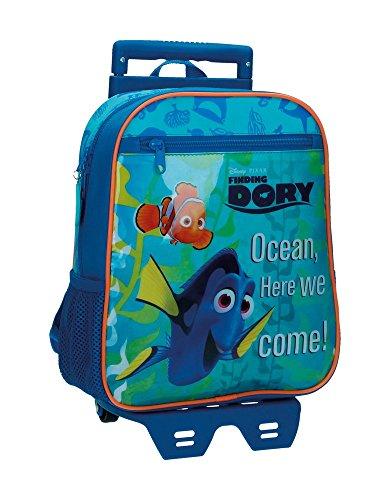 Kindergartenrucksack mit Trolley Finding Dory Blau Preisvergleich