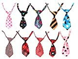 #8: Finbar Dog & Cat Collar Grooming Bow Tie Necktie Clothes- 1 Piece Color May Vary