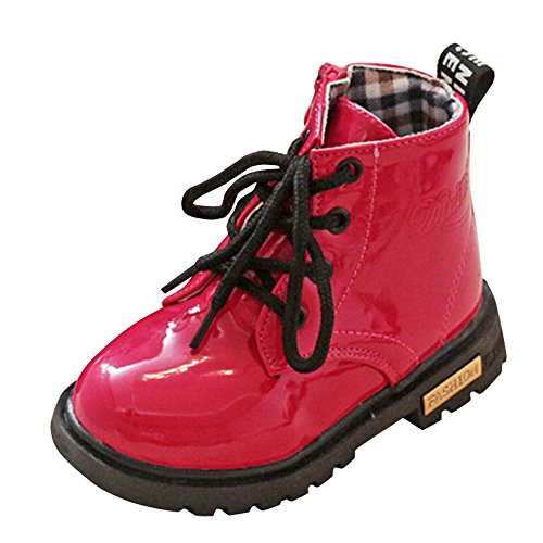 Heligen Abstand Kinder Mode Jungen Mädchen Sneaker Winter Dicke Schnee Baby Freizeitschuhe (Mädchen Schuhe Abstand)