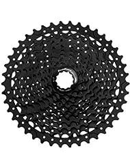 Sun Race MS3 Cassette para Bicicleta, Negro, 10V/11-40T