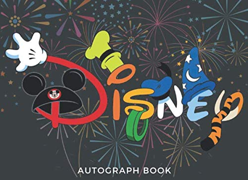 Disney Autograph Book: 50 Pages Best Gift For (Best Friends, Lover, Girl Friend, Daughter) for Autograph & Character Signatures