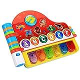Smibie Rhyme Discover Buch, elektrische Liederbuch Baby Spielzeug, Lernspaß Piano,Spielzeug