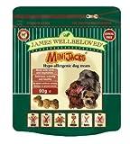 James Wellbeloved Minijacks Dog Snacks 90g (Flavour: Cereal Free & Lamb)
