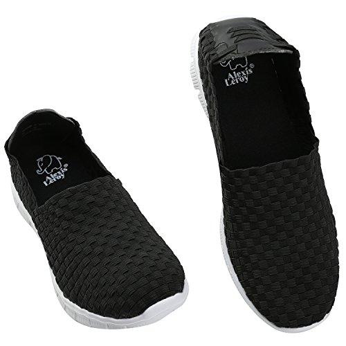 Alexis Leroy Fitness, Chaussures de sports en salle homme Noir