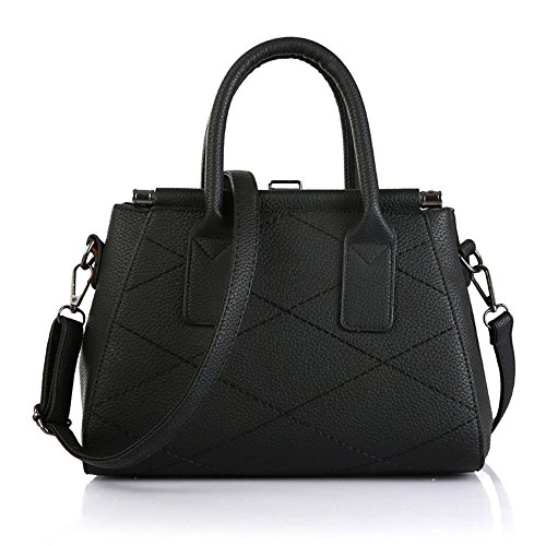FavoMode, Borsa a mano donna bianco White Handbag Lavender Handbag