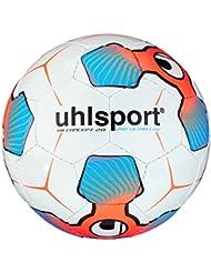 uhlsport Ballon de Football pour Enfant tri Concept 290 Ultra Lite 2.0 Blanc/Rouge/Bleu