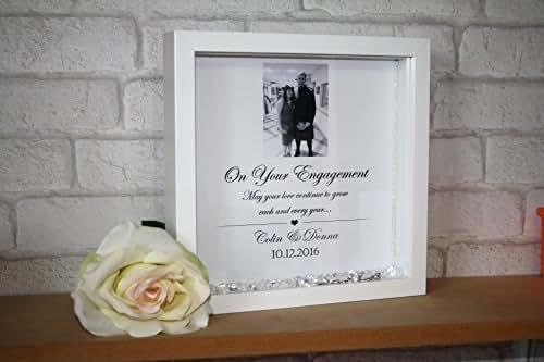 Engagement Frame / Engagement Gift / Personalised Engagement ...