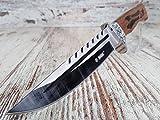 33cm großes & solides edel Jagdmesser - Jäger Messer -