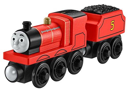 Produktbild Mattel Fisher-Price Y4070 - Thomas und seine Freunde Holzlokomotive James,  groß