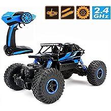RC Rock Crawler,CrossRace Ferngesteuertes Auto,1:18 RC Auto,4WD Monster Truck/Off Road Fahrzeug