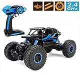 Ferngesteuertes Autos,CrossRace RC Auto Rock Crawler,1:18 Monstertruck,4WD...