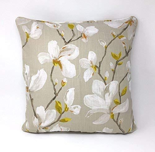 Rempli Arrière Floral Fleurs Dijon Jaune Blanc Ambiance 18 \