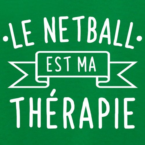 Le netball est ma thérapie - Femme T-Shirt - 14 couleur Vert