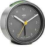 Braun bNC012 horloge à quartz (gris)