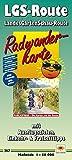 Radwanderkarte LGS-Route LandesGartenSchau-Route: Mit Ausflugszielen, Einkehr- & Freizeittipps, wetterfest, reissfest, abwischbar, GPS-genau. 1:50000