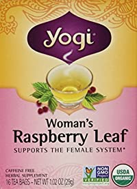 Yogi Teas: Woman's Raspberry Leaf Tea, 16 ct (3 pack)
