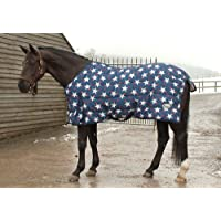 Rhinegold Star Horses Stable Quilt Rug