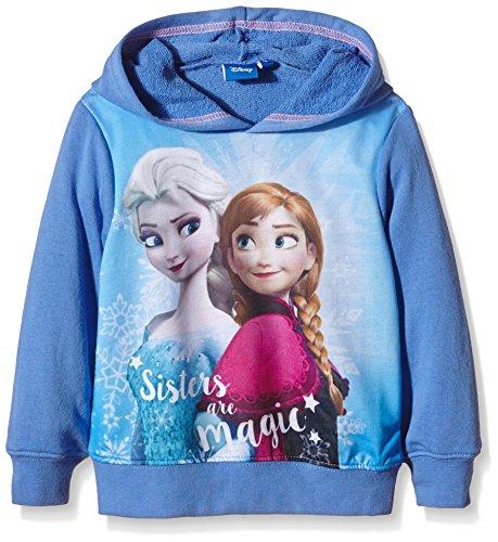 Disney Frozen Sisters Are Magic-Felpa Bambina    Blue (Pervenche) 5 anni