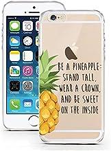 Licaso® - Carcasa para iPhone 6 y 6S (fabricada en silicona ultra fina, para iPhone 6)