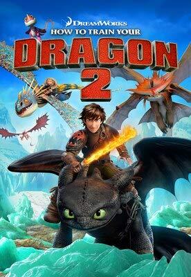 XWArtpic Cómo Entrenar a tu dragón Personaje de película de Dibujos Animados clásico Comic Poster...