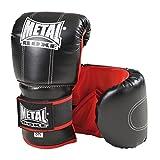 Metal Boxe - Guantes de boxeo, color negro - negro, tamaño Junior