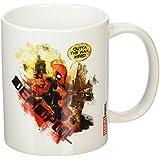 Deadpool Nerd TAZA de cerámica, multicolor