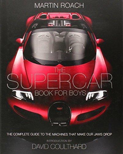 The Supercar Book for Boys by Martin Roach (2014-09-11)