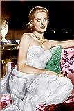 Posterlounge Forex-Platte 120 x 180 cm: Über den Dächern von Nizza, Grace Kelly, 1955 von Everett Collection