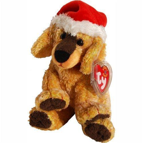 Ty Beanie Babies - Jinglepup the Dog with White Brim