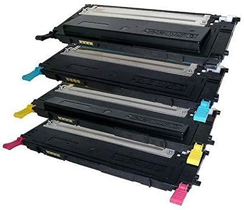 Pack 4 Compatibles Toner Laser pour Samsung CLP-310, CLP-310N, CLP-310K,