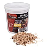 Pecan Wood Smoker Chips (1 Pint) - 100% All Natural, Extra Fine Wood Smoking and Barbecue Chips