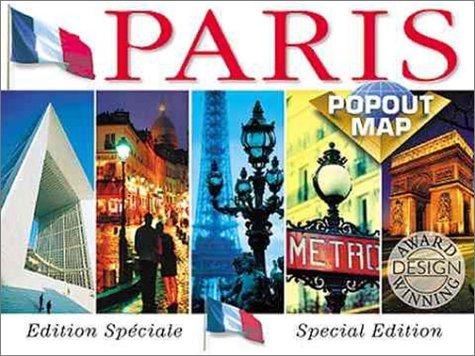 Paris. Popout Map