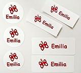 76 MDS Labels© Namensetiketten für Kindergarten (Aufkleber und Bügeletiketten)