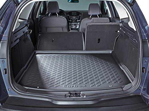 Preisvergleich Produktbild Fussmatten-Deluxe 144144192 Kofferraumwanne Kofferraummatte Kofferraumschale schwarz inklusive Multimatte passend für das in der Beschreibung genannte Fahrzeug. *Bitte Hinweise unbedingt beachten!*