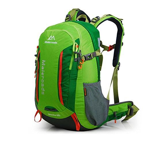 Outdoor-Bergsteigen-Tasche/Rucksack/Männer und Frauen auf Fuß Outdoor-Taschen-grün 40L grün