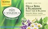 L'Angelica Tè Della Sera e Rilassante - 20 Bustine - [confezione da 10]