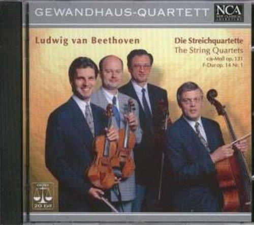 Preisvergleich Produktbild Die Streichquartette Cis-Moll op. 131,  F-Dur op. 14, 1