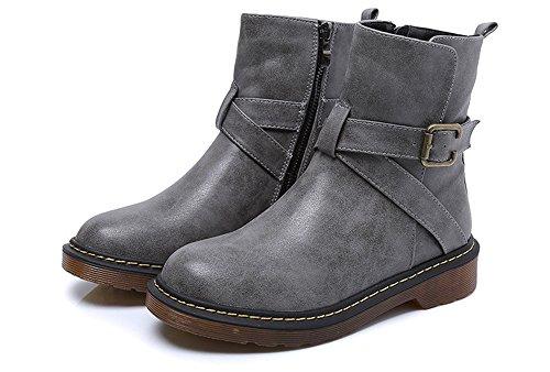 Martin stivali stivaletti di spessore con caldi gray