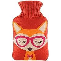 Warme einfache klassische Gummi kalte Heißwasserflasche 1 Liter mit netten Knit-Abdeckung#17 preisvergleich bei billige-tabletten.eu